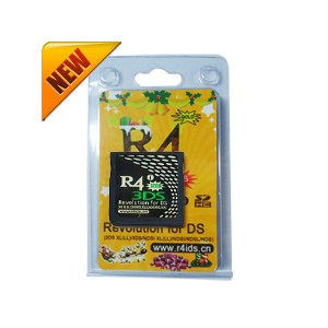 R4i gold 3DS (Supporte à 3DS/2DS 9.7.0-25)