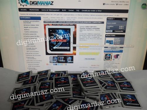 sky3ds+ est en stock maintenant sur digimaniaz.com dans sky3ds+ digisky-