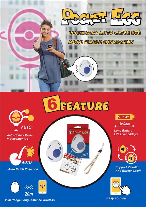 Pocket Egg attrape pokémon facilement pour le jeu pokémon go dans Actu DM_Pocket-EGG-1